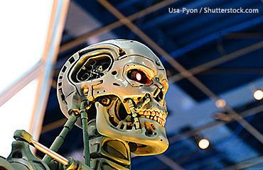 Terminator skull image