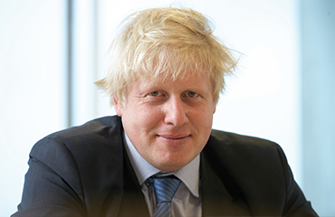 Boris johnson portrait